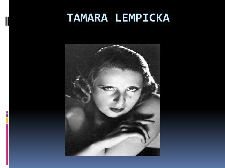TAMARA LEMPICKA<br />