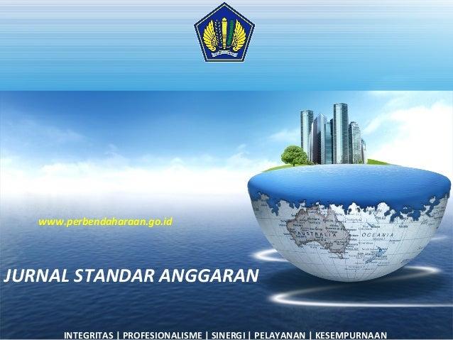 Tambahan jurnal standar