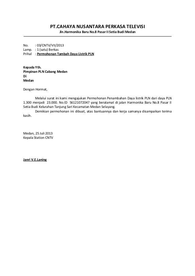 Contoh Surat Kuasa - USA Momo