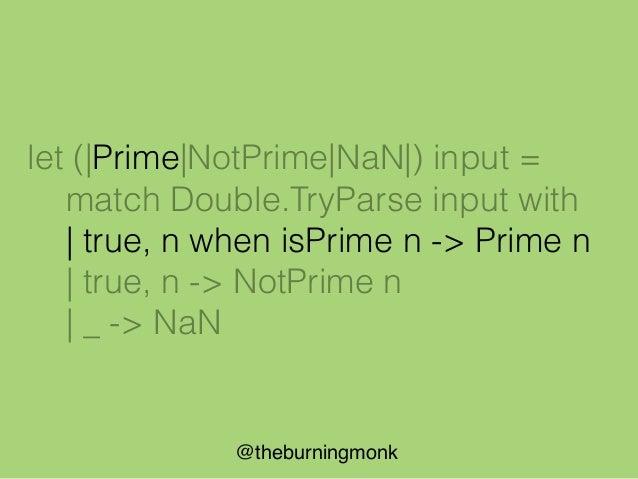 @theburningmonk Parse Filter (string list -> Filter * string list)