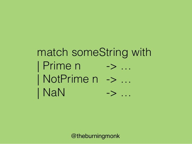 @theburningmonk Parse (string list -> Query)