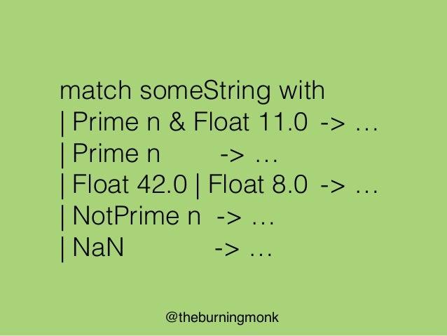 @theburningmonk let parse (input : string) = input |> tokenize |> parseFilter |> parseTimeFrame |> parsePeriod