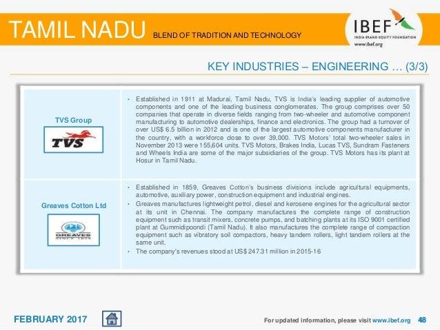 Tamil Nadu State Report February 2017