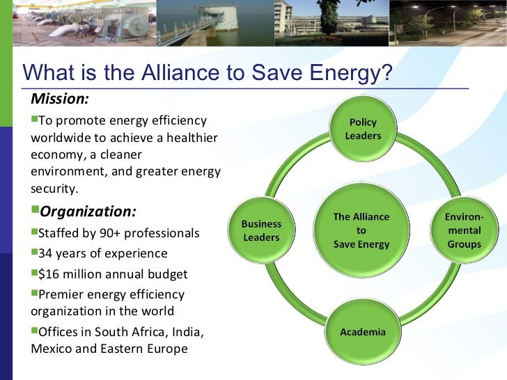 alliance to save energy