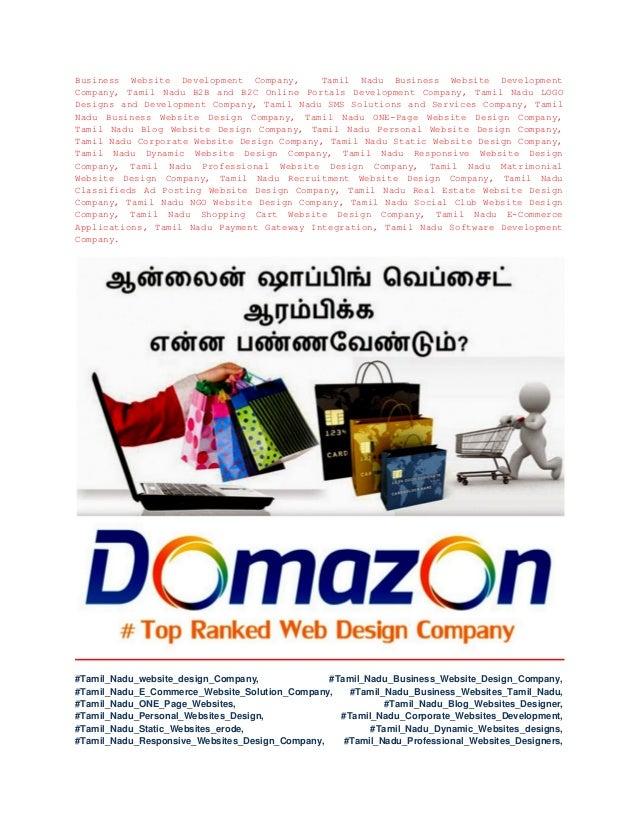 Tamil Nadu Website Design and Tamil Nadu Website Development Company …