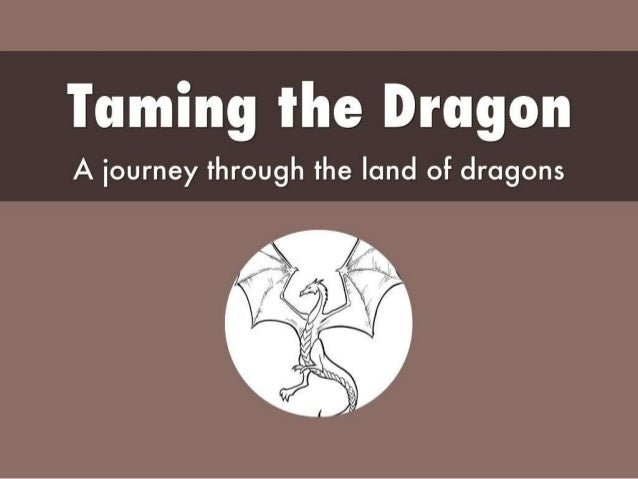 Taming the Dragon A journey through the land of dragons