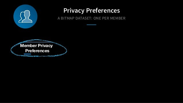 A BITMAP DATASET: ONE PER MEMBER Privacy Preferences Member Privacy Preferences