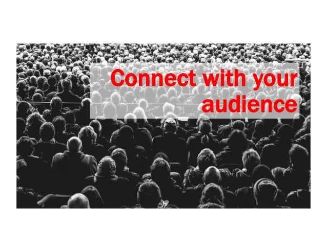 Who are you talking to? Write for the people who read and use your content