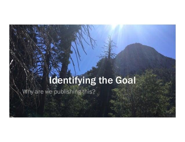 61 Users meet their needs Organization meets its goals Balancing Goals & Needs