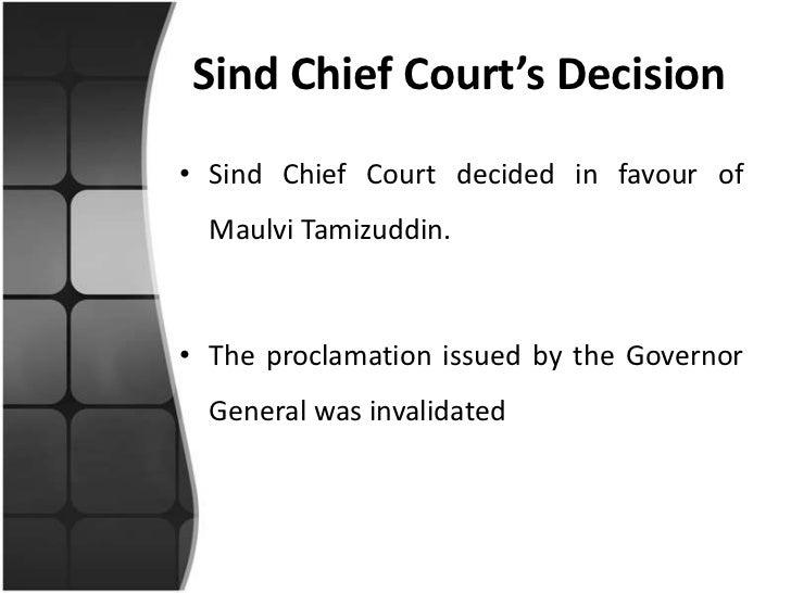 Tamizzudin's Case  Maulvi Tamizuddin Case