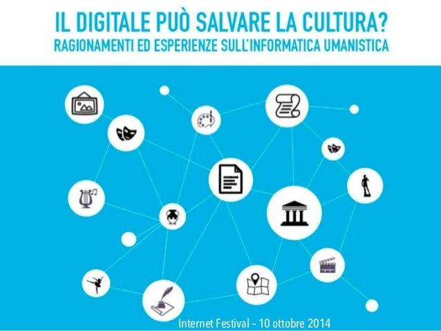 Internet Festival – 10 ottobre 2014