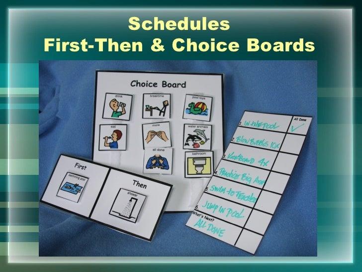 SchedulesFirst-Then & Choice Boards