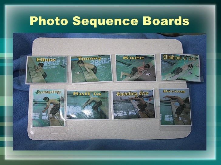 Photo Sequence Boards