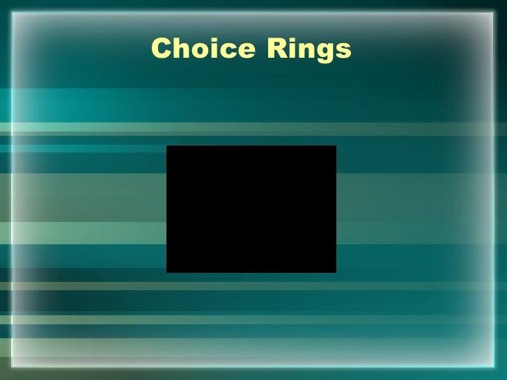 Choice Rings