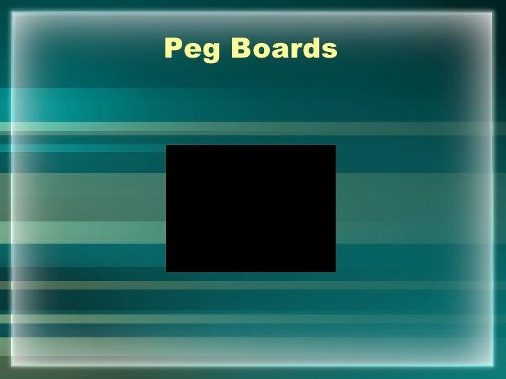 Peg Boards