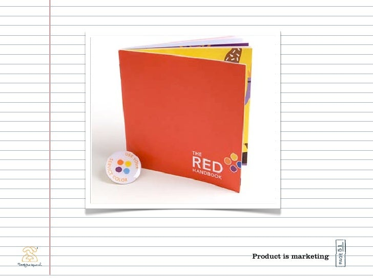 51 Product is marketing