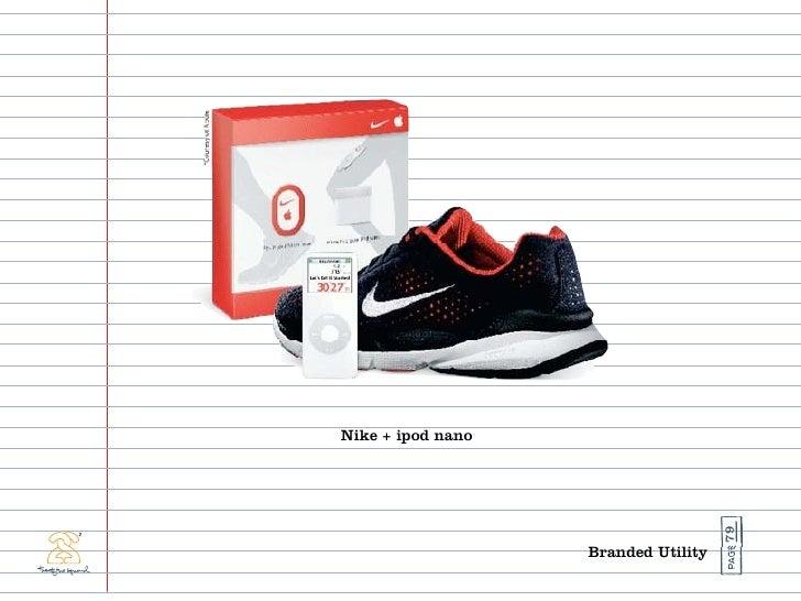Nike + ipod nano                                          79                    Branded Utility