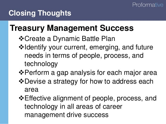 Technology Management Image: Treasury Management: A 5-Year Strategic Battle Plan For