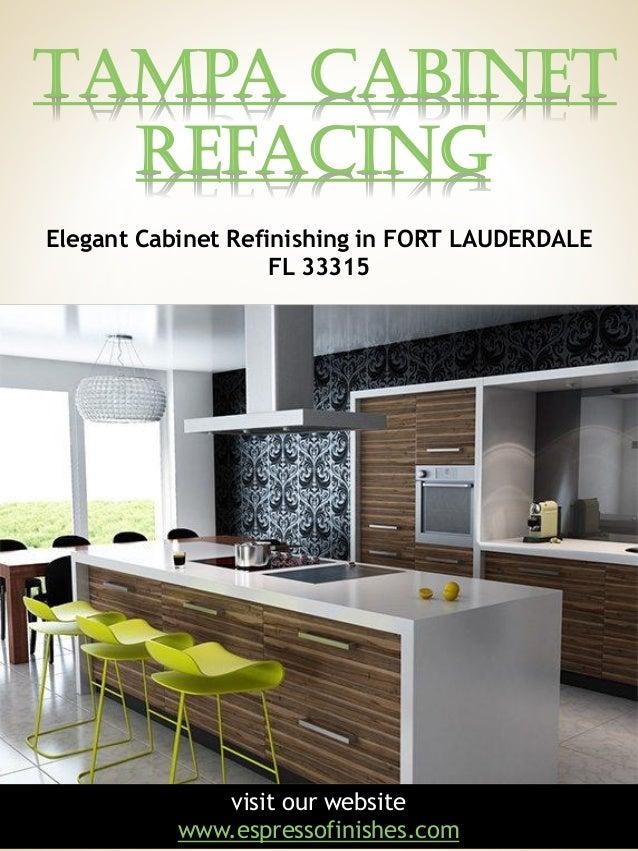 Tampa Cabinet Refacing