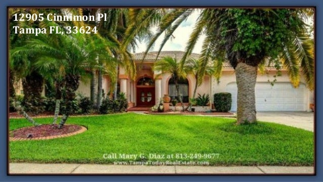 tampa fl landscaped home for sale with a pool in village