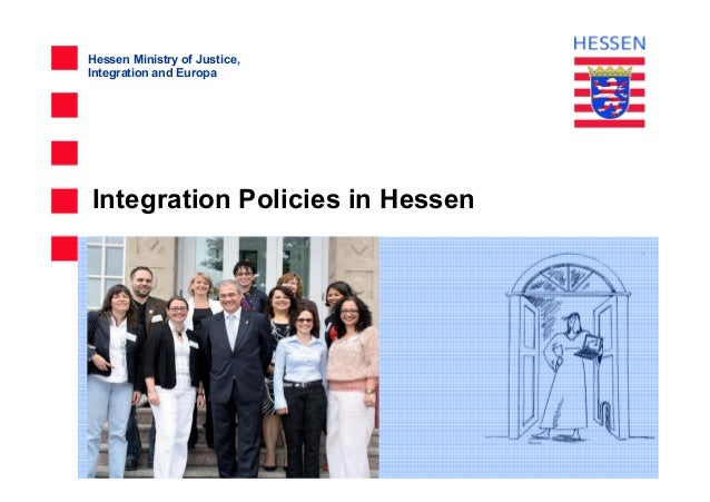 Hessen Ministry of Justice, Integration and Europa Integration Policies in Hessen