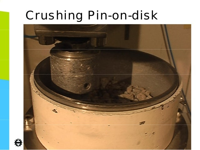 pin-on-disc machine thesis university Challenged our team to design and manufacture a tribometer device   reciprocating wear testing apparatus as one which slides a sample.