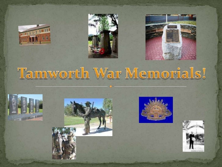  The Tamworth Town Hall was opened in 1934. It was designed as a  lasting memorial to Tamworth and district soldiers and ...