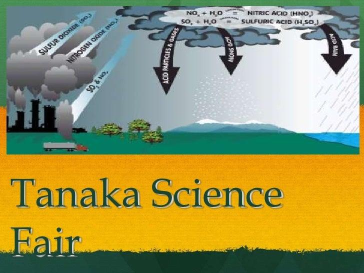 Tanaka ScienceFair