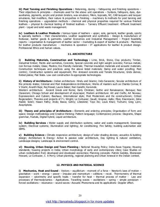 tancet 2014 syllabus for ece