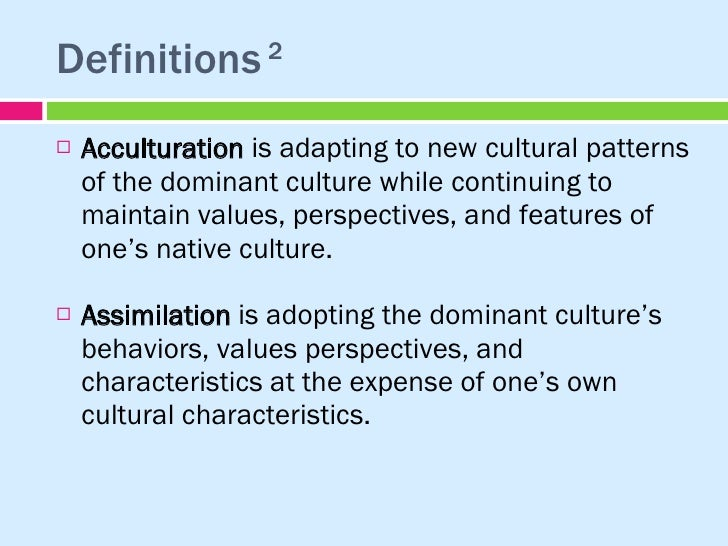 ACCULTURATION AND ASSIMILATION EPUB