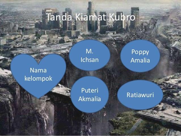Tanda Kiamat Kubro