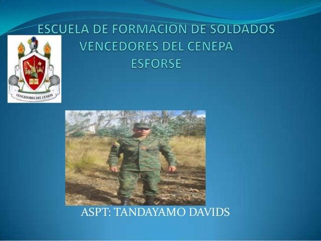 ASPT: TANDAYAMO DAVIDS
