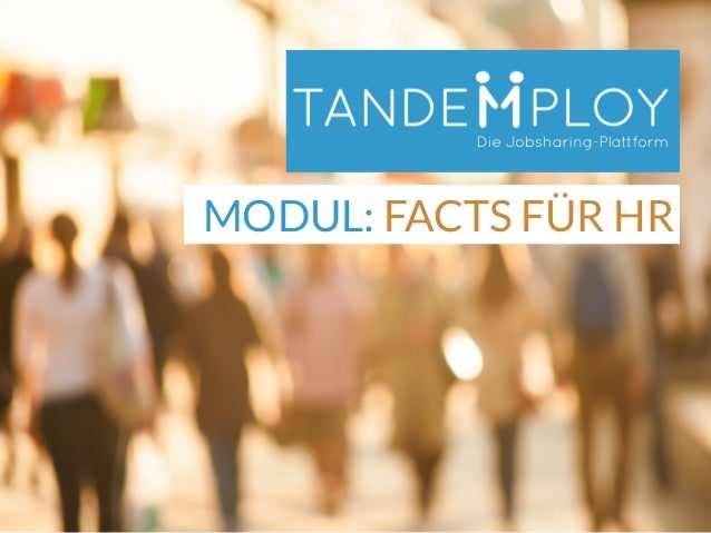 MODUL: FACTS FÜR HR