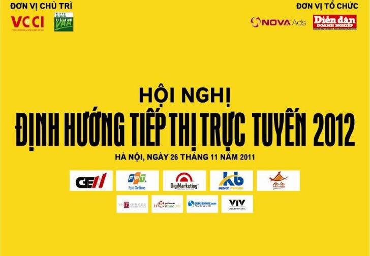 Tận dụng Tiếp thị sốđể xây dựng thương hiệuDiễn giả: bà Hà Nguyễn Thư AnChuyên gia tư vấn chiến lược tiếp thịGiám đốc bộ p...