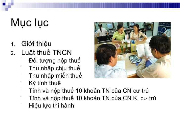 Tanet  - Gioi thieu Thue TNCN - Phan 1 Slide 2