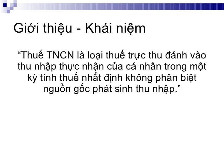 Tanet  - Gioi thieu Thue TNCN - Phan 1 Slide 3