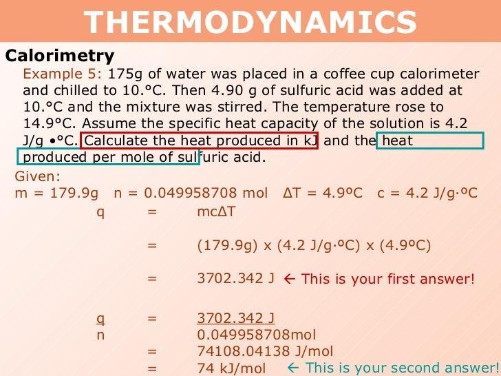 Tang 01 heat capacity and calorimetry
