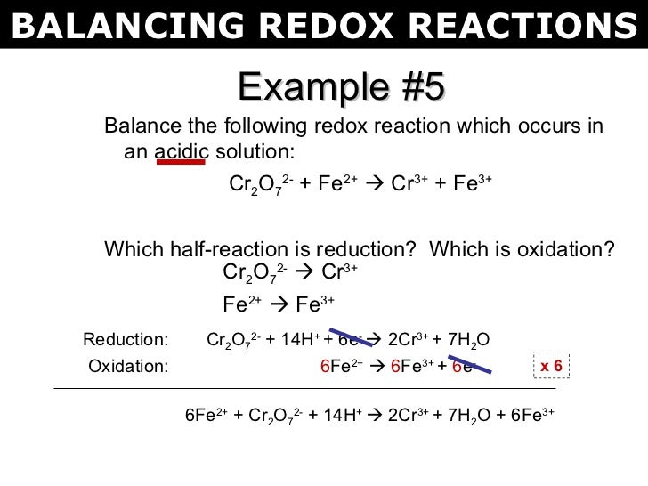 Redox (oxidation-reduction) reactions: definitions and examples.