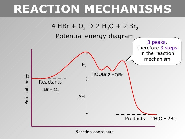 Potential Energy Diagram Reaction Mechanism All Kind Of Wiring