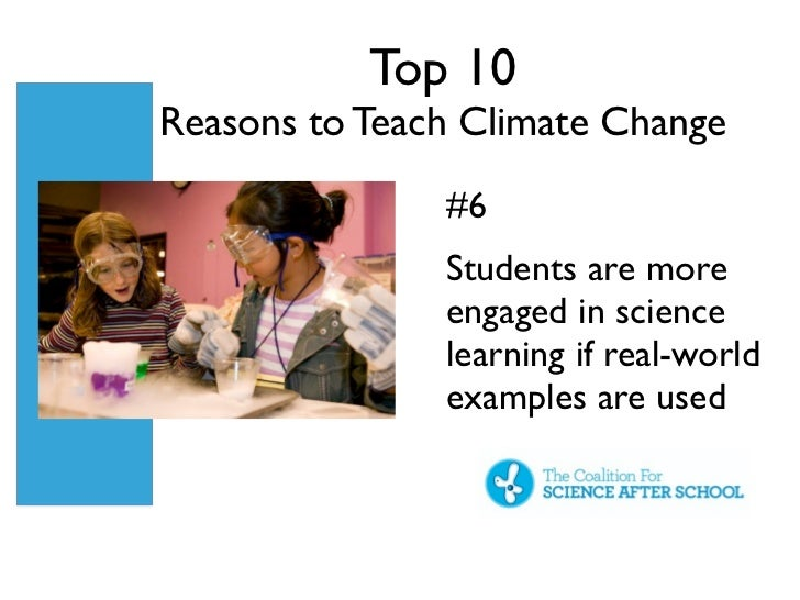 how to teach climate change science education