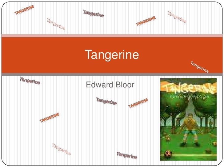 Guide to the Novel and Summary of Tangerine by Edward Bloor