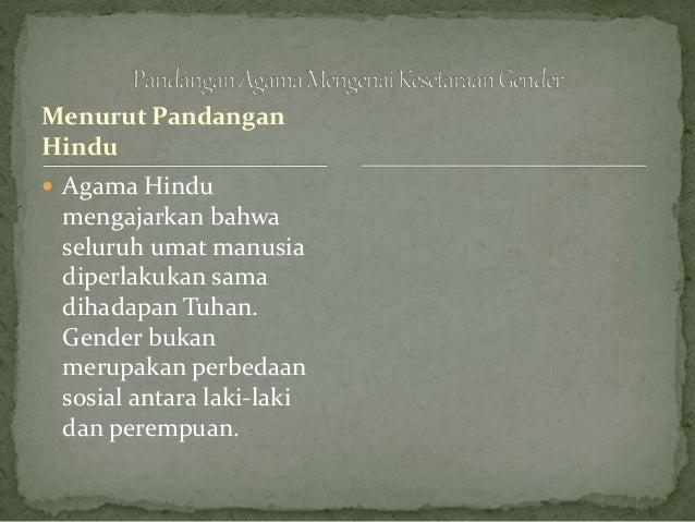 gender feminisme dan agama dalam novel Abstrak: di dalam islam, laki-laki dan perempuan adalah sama di hadapan allah  swt (das  (kajian feminis dan resepsi atas kisah yusuf dalam serat yusuf.