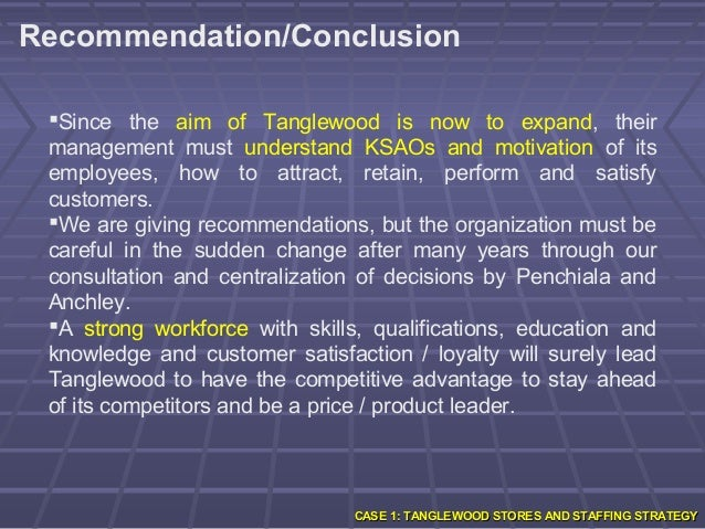 tanglewood stores workforce and staffing strategy Staffing plan employee classification name responsibilities rate regional manager(s) store manager(s) assistant store manager(s) department manager operation associate store associates shift leaders the staffing process planning staffing begins with planning whereby an analysis of labor needs is conducted based.