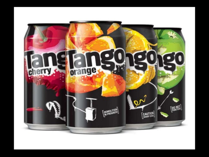 About Tango• Carbonated soft drink sold primarily in UK.• Have always marketed themselves using innovative  advertising te...