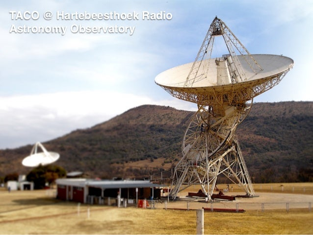TACO @ Hartebeesthoek Radio Astronomy Observatory