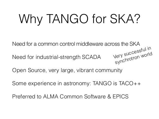 The TANGO Control System Manual Version 9.2 RTFM! Looks easy!