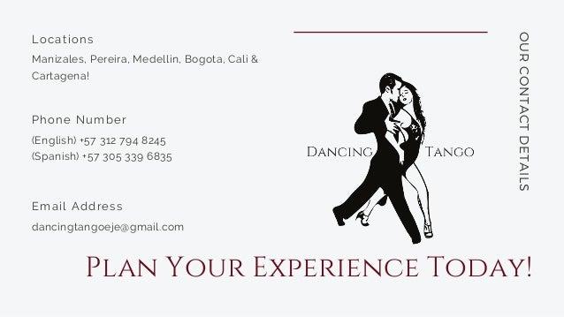 Colombian Dance Tourism | Dancing Tango