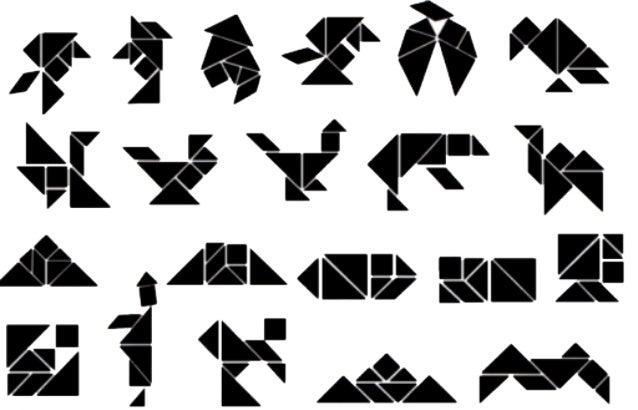 Tangram images