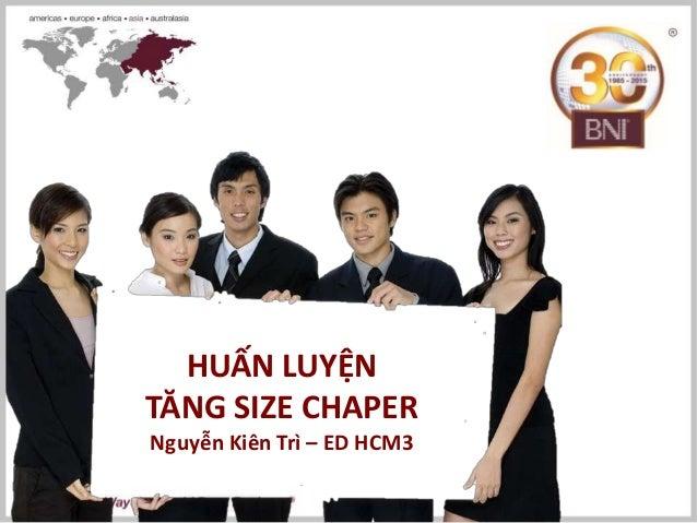 HUẤN LUYỆN TĂNG SIZE CHAPER Nguyễn Kiên Trì – ED HCM3