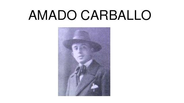 AMADO CARBALLO